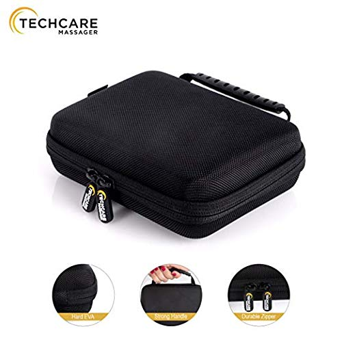 TechCare Touch 24 Massager Tens Unit Muscle Stimulator Machine with Hard Case (Touch Screen)