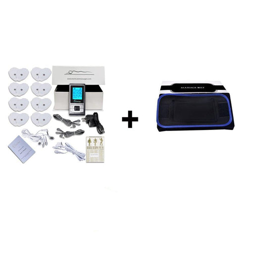 TechCare SE Tens Unit  Belt + 6 Pads