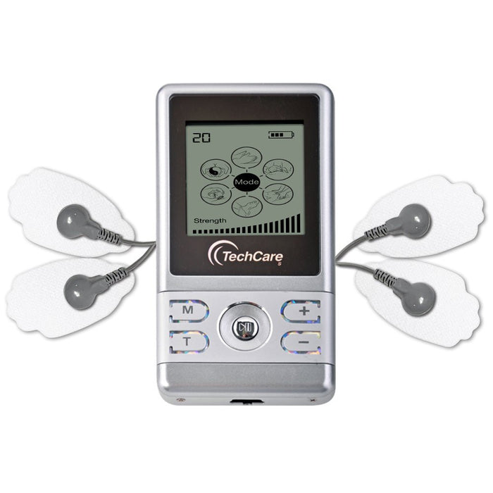 TechCare S Tens Unit + Shoe + 6 Pads