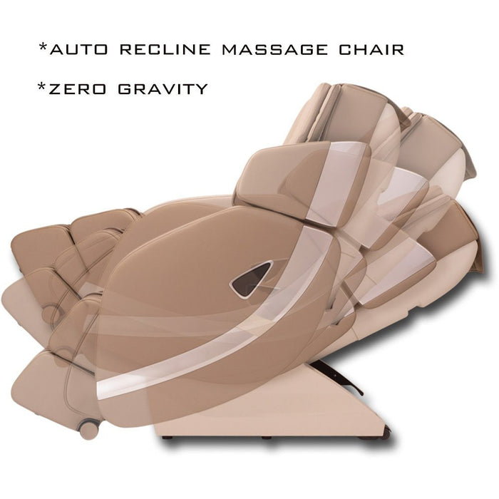 ADAKO TR4300 Zero Gravity L-Shaped Shiatsu Recliner Massage Chair With LED Lights