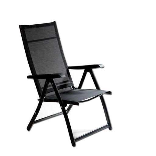 Heavy Duty Durable Adjustable Reclining Folding Chair Outdoor Indoor Garden Pool