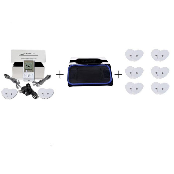 TechCare S Tens Unit 6 Modes + Belt + 6 Pads