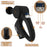 Massage Gun Deep Tissue Percussion Muscle Massager Rechargeable Battery for Athletes Pain Management 15 Speed Levels Upgraded Battery 5 Heads [2020 Model]