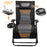 Oversize Recliner Folding Chair for Camping Patio Outdoors Zero Gravity XXLarge Extra Wide Reclining Padded Seats with Sunshade and Cup Holder Tray [Heavy Duty]