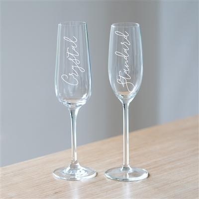 Congratulations Champagne Glass