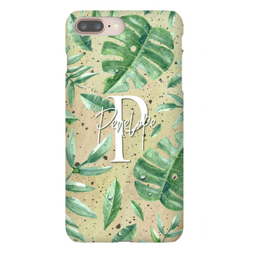 Botanical Personalised iPhone Case