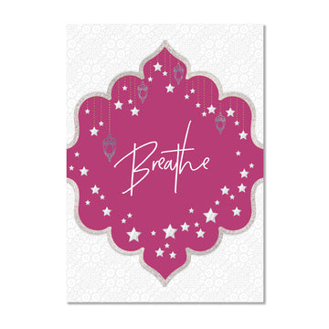 Breathe Wall Art Print