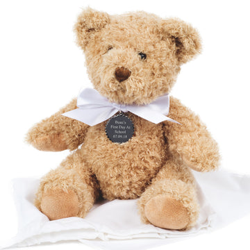 First Day Of School Keepsake - Personalised Teddy