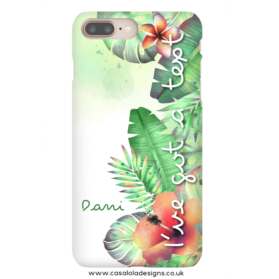 Love Island Phone Case