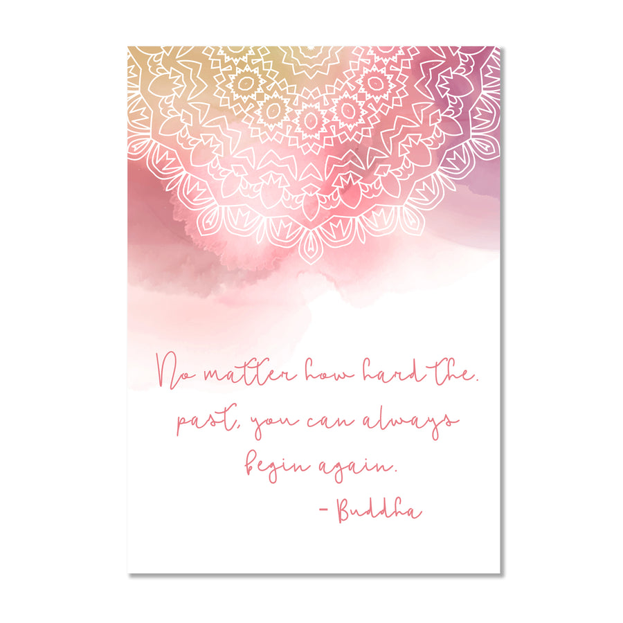 Buddha Quote Wall Art Print