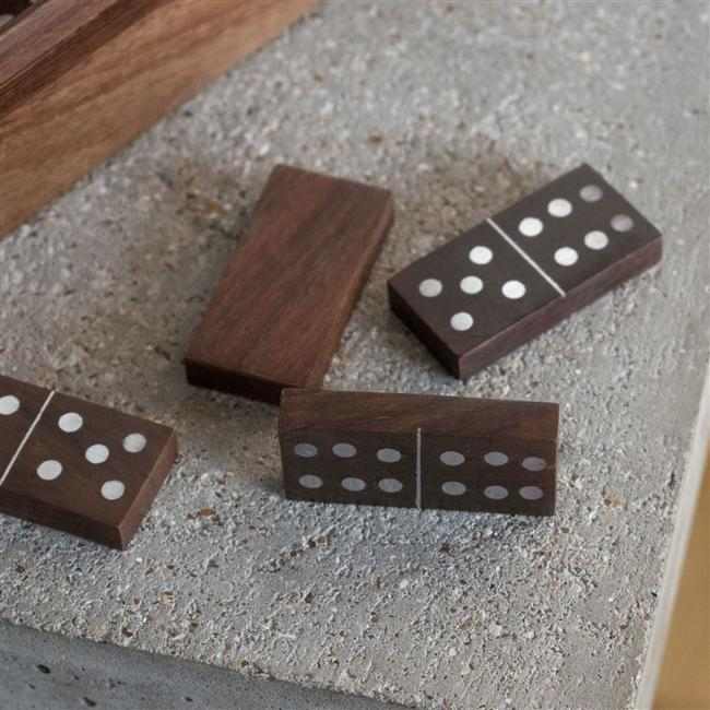 Personalised Woodn Domino Set
