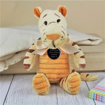 Personalised Tigger Cuddly Toy