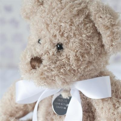 Personalised Christening Teddy Bear - Large