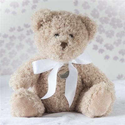Personalised Christening Teddy Bear - Small
