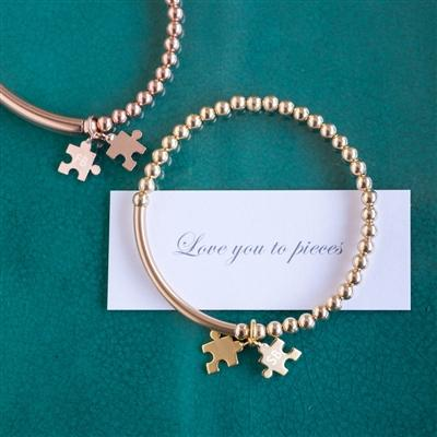 Love You To Pieces Bracelet