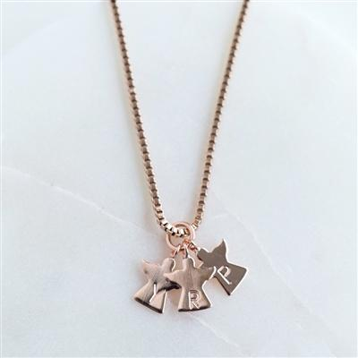 Mummy's Little Angels Necklace