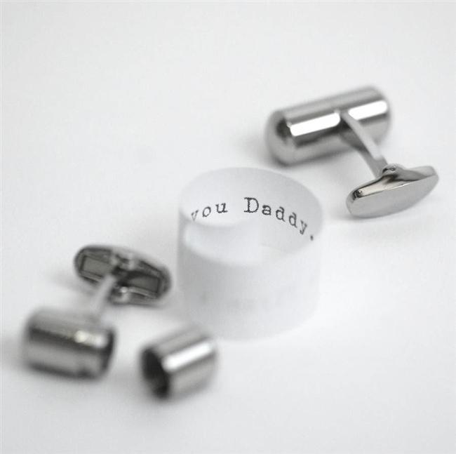 Secret Message Cufflinks
