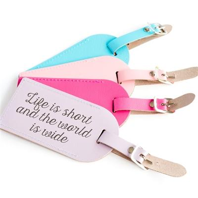 Pastel Personalised Luggage Tag