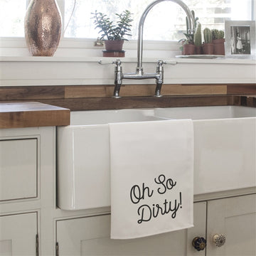 Oh So Dirty Tea Towel, Gifts For Her, Gift Ideas For Her