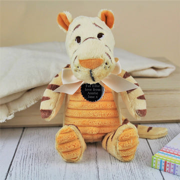 Personalised Tigger Soft Toy