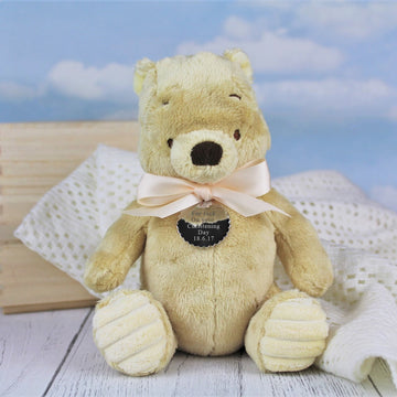 Personalised Winnie The Pooh Soft Toy