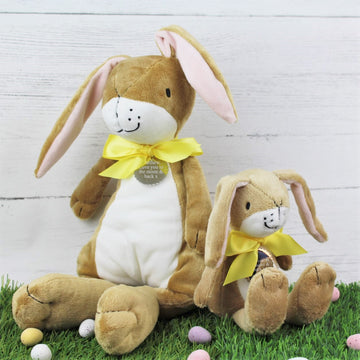 Large Personalised Guess How Much I Love You Soft Toy Hare