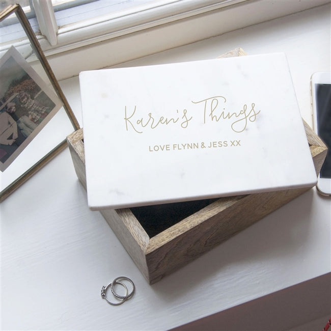 Personalised Gifts For Her - Trinket Box