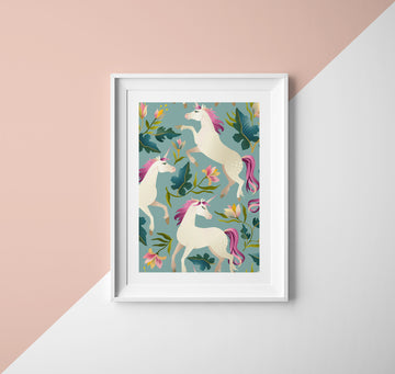 Unicorn Gift - Unicorn Wall Art