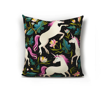 Unicorn Cushion - Dark