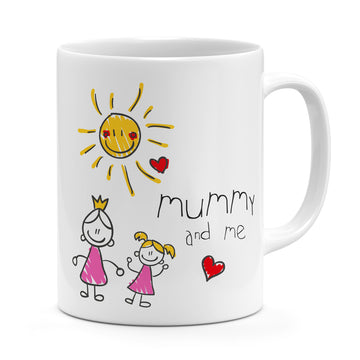 Upload Your Child's Drawing Mug - Personalised Gift For Mum