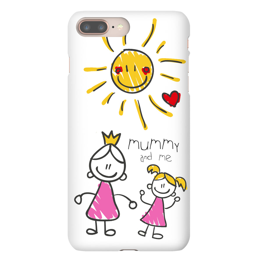 Personalised Mother's Day Child's Drawing iPhone Case