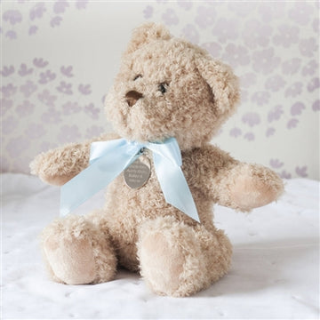 Personalised New Baby Boy Teddy Bear Soft Toy