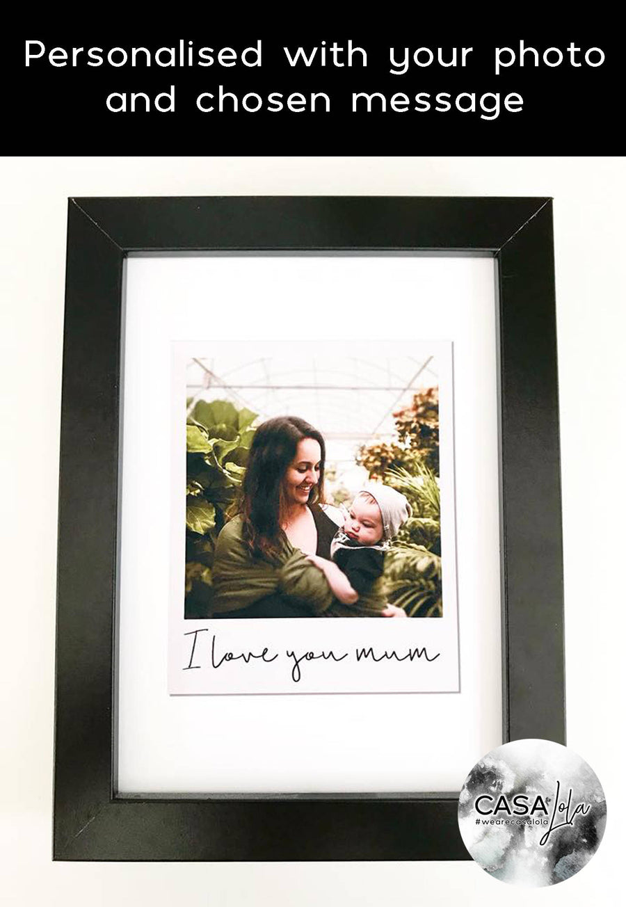 Personalised Polaroid Gift