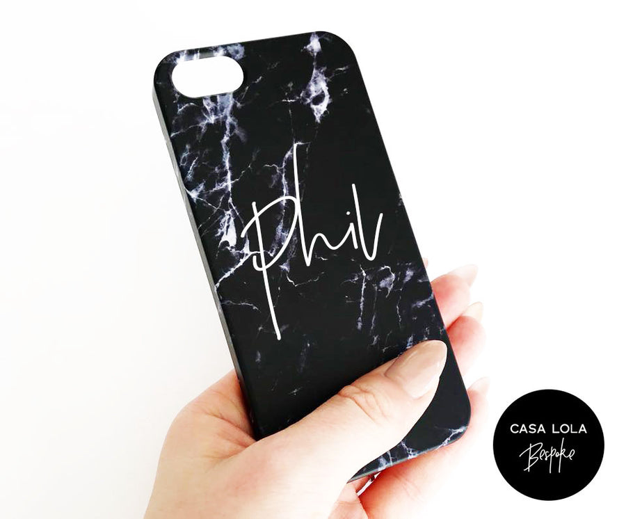 Marble Phone Case, Marble Texture Case, Marble Texture Phone Case, Monogram Marble Case, Personalised Case, Personalised Case