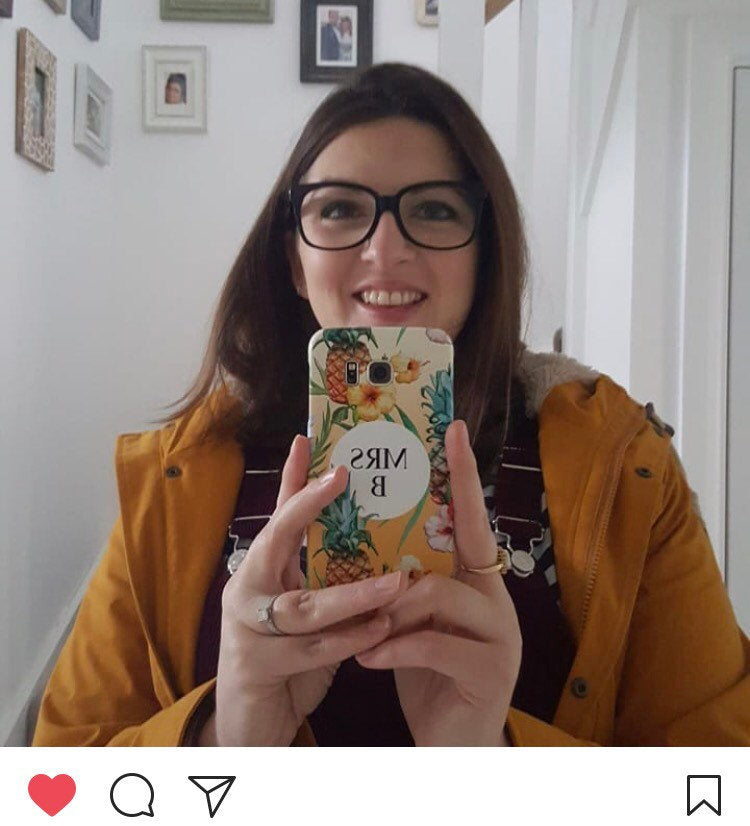 Personalised Pineapple Phone Case