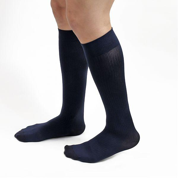 Salvere Business Ribbed 15-20 mmHg Knee High