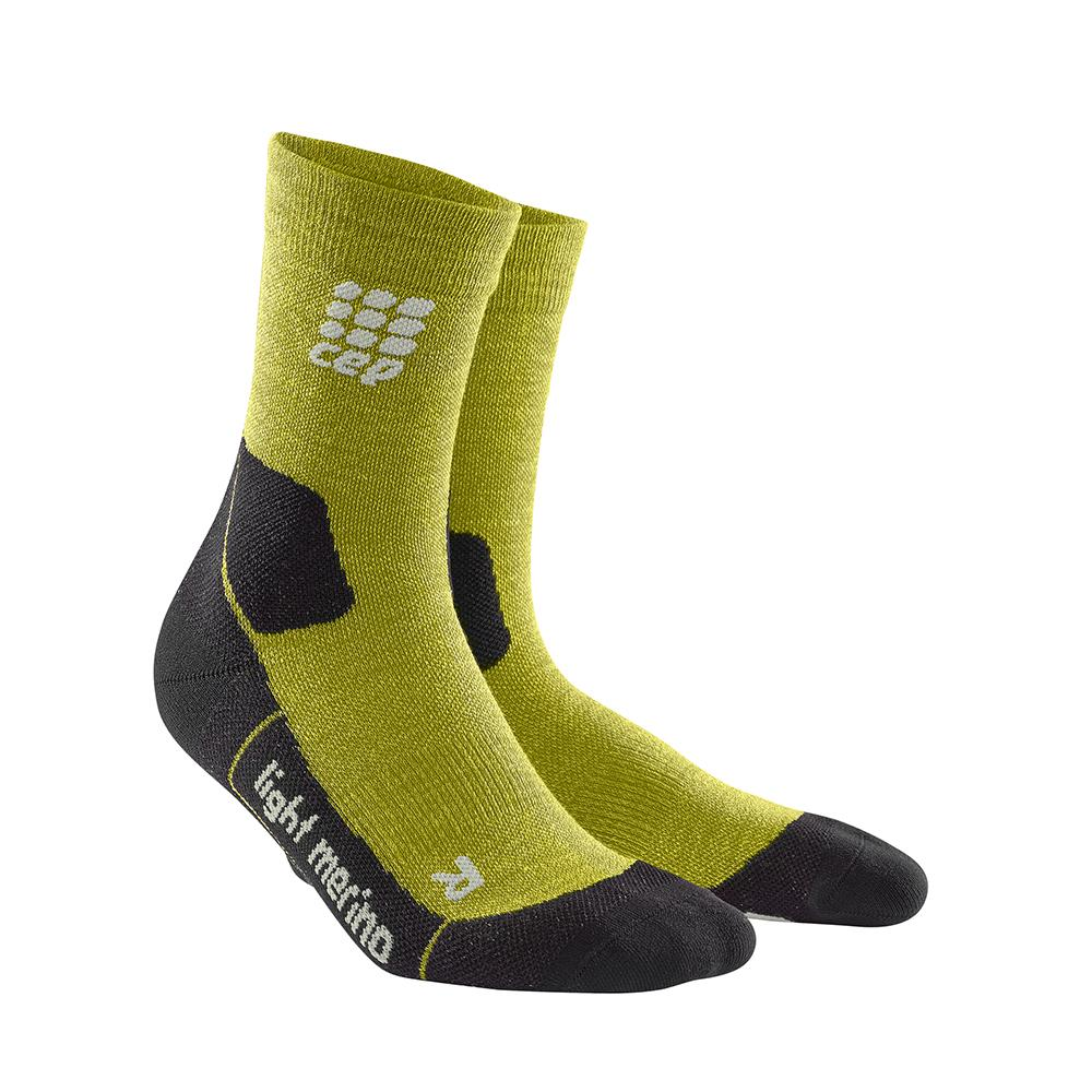 CEP Men's Outdoor Light Merino Mid-Cut Socks