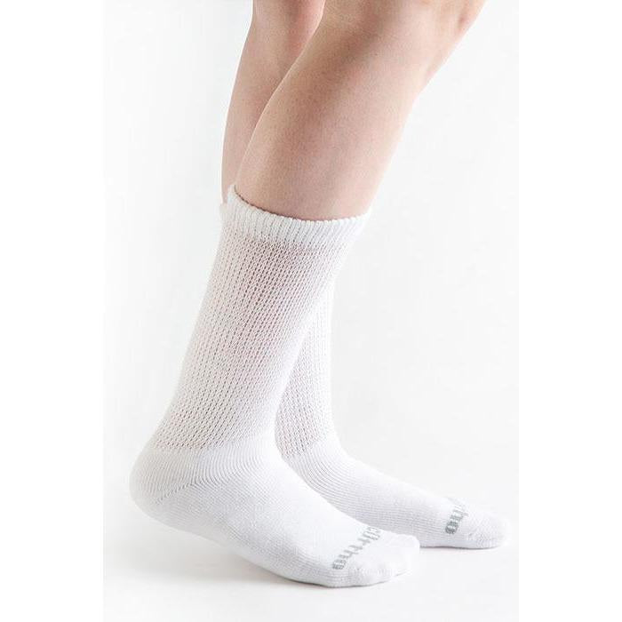 Doc Ortho Ultra Soft Loose Fit Diabetic Crew Socks, 3 pairs
