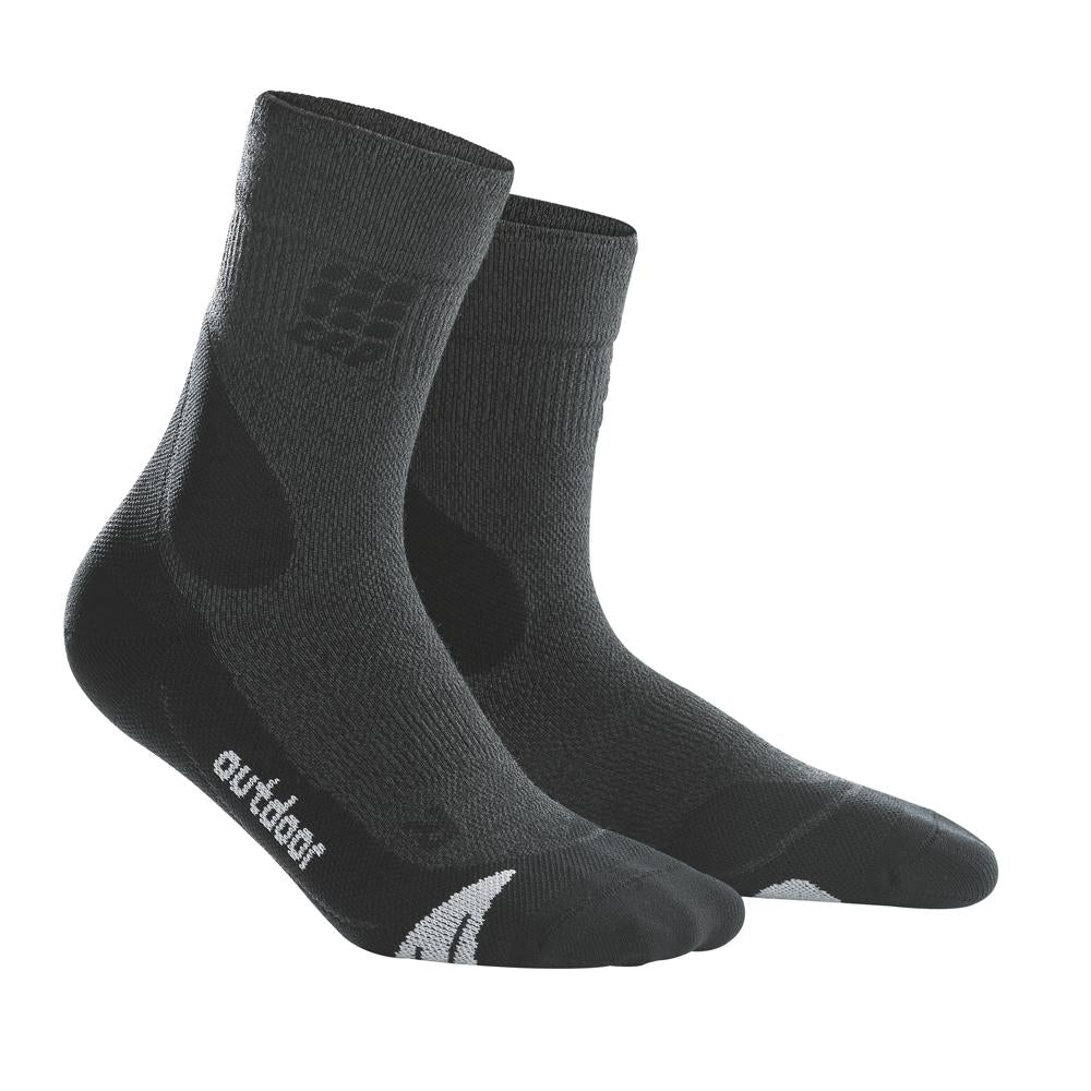 CEP Men's Outdoor Merino Mid-Cut Socks