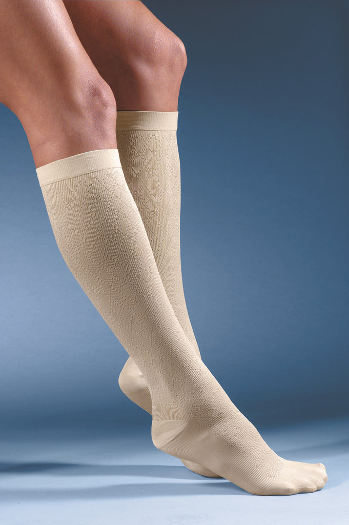 Activa Sheer Therapy Women's Pattern Socks 15-20 mmHg Knee High