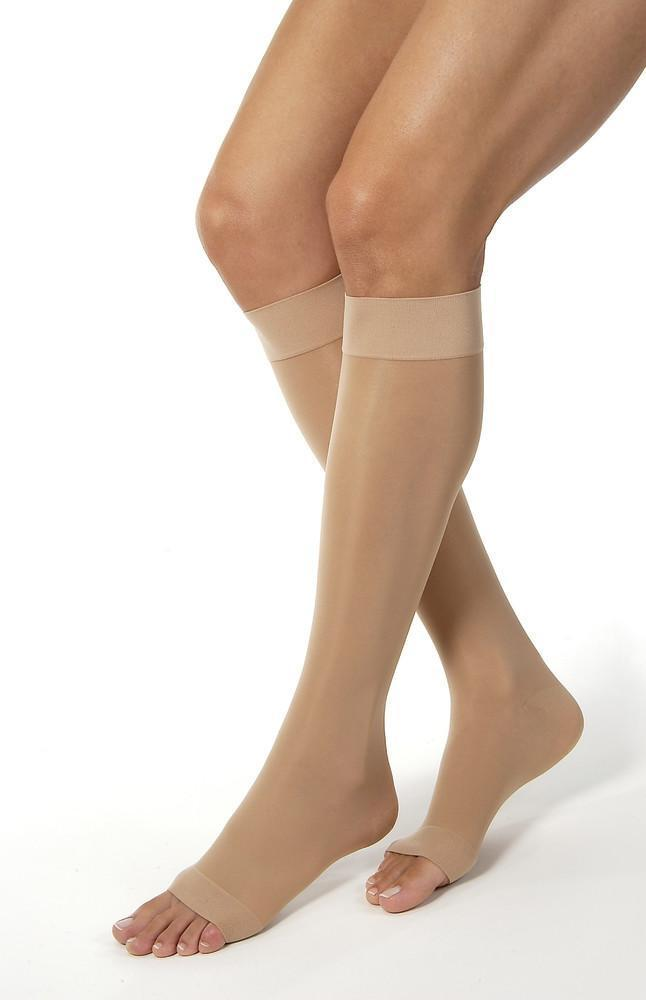 Jobst UltraSheer Women's 30-40 mmHg OPEN TOE Knee High