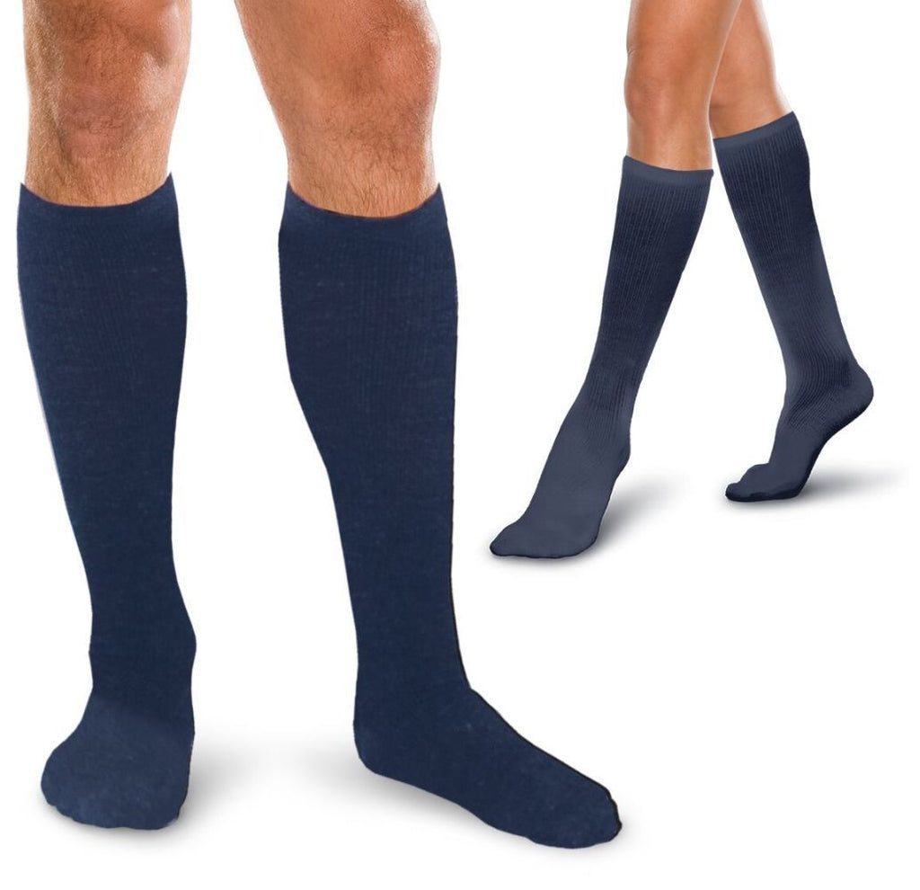Core-Spun 30-40 mmHg Knee High Compression Socks