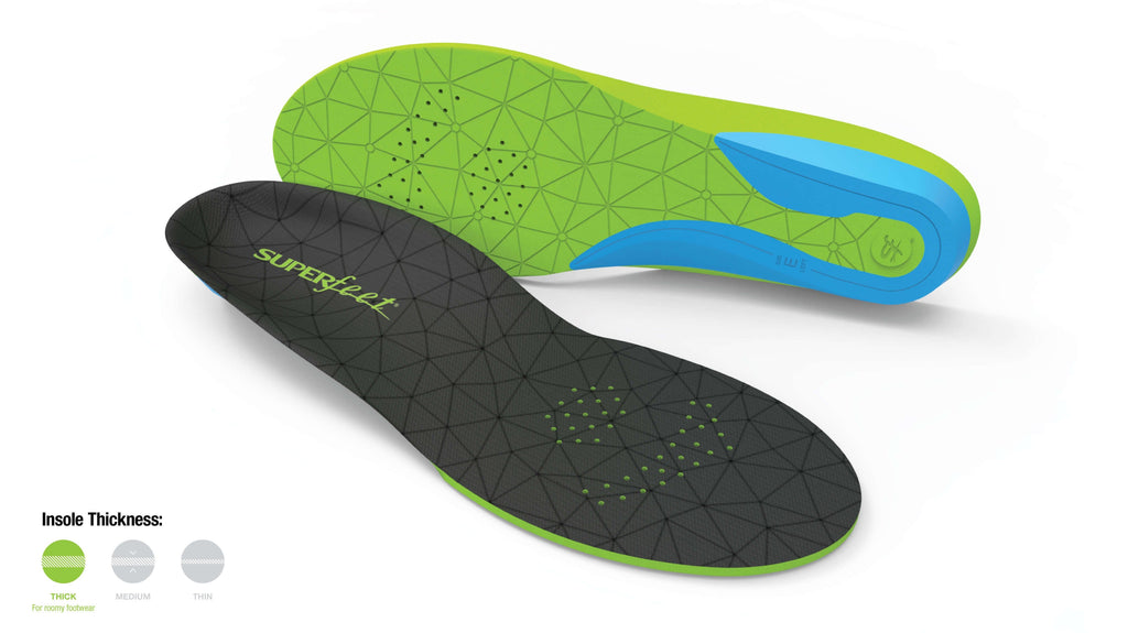 Superfeet FLEXmax Cushioned Running & Athletic Insoles