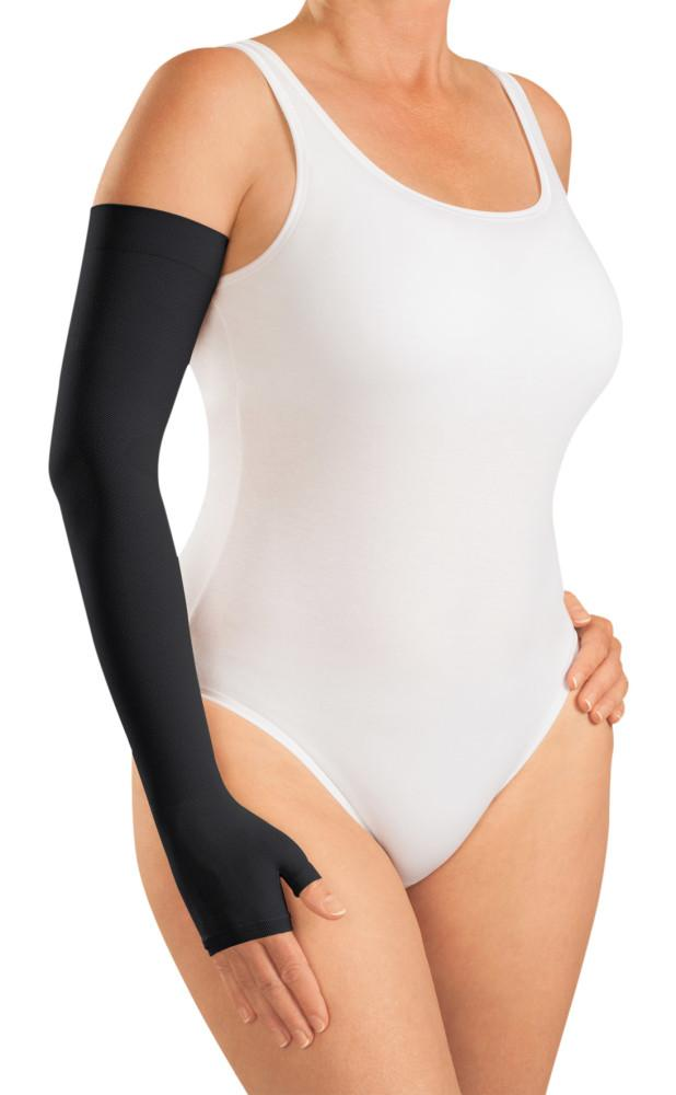 Mediven Harmony 20-30 mmHg Armsleeve w/ Gauntlet and Beaded Silicone Top Band