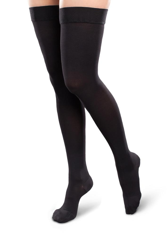 Therafirm Ease Opaque Women's 30-40mmHg Thigh High