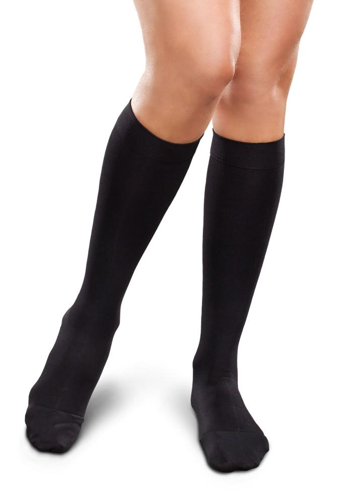 Therafirm Ease Opaque Women's 20-30mmHg Knee High