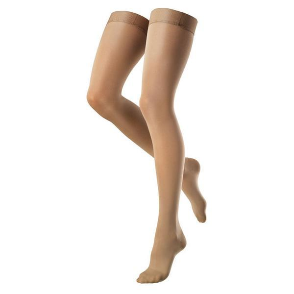 Venosan VenoSoft 20-30 mmHg OPEN TOE Thigh High w/ Silicone Top Band