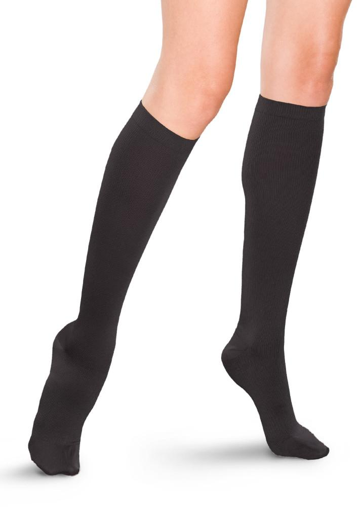 Therafirm Women's 15-20 mmHg Ribbed Knee High
