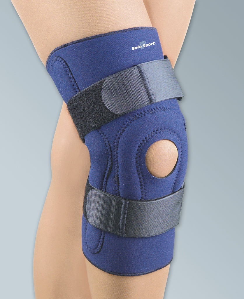 FLA Safe-T-Sport® Neoprene Hinged Knee Stabilizing Brace