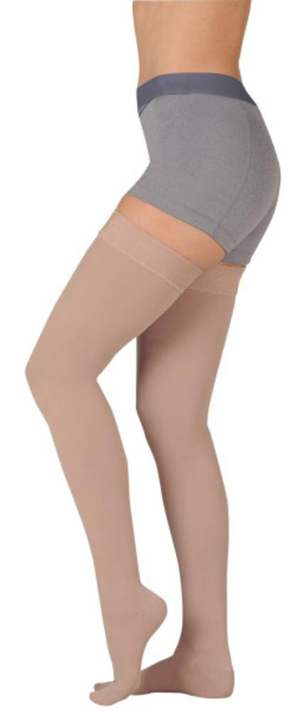Juzo Basic 20-30 mmHg Thigh High w/ Silicone Top Band